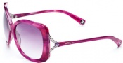 True Religion Olivia Sunglasses Sunglasses - Plum W/ Purple Gradient Lens