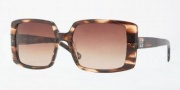 Anne Klein AK3172 Sunglasses Sunglasses - 322/74 Transparent Brown / Brown Gradient