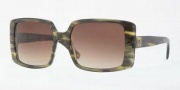 Anne Klein AK3172 Sunglasses Sunglasses - 323/78 Transparent Green / Ligth Brown Gradient