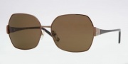 Anne Klein AK4130 Sunglasses Sunglasses - 358/82 Brown / Brown Solid