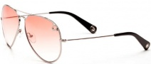 True Religion Jeff Sunglasses  Sunglasses - Shiny Silver W/ Orange Lens