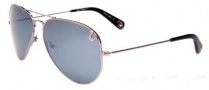 True Religion Jeff 55 Sunglasses Sunglasses - Shiny Gunmetal W/ Non-Polarized Red or Orange Lens