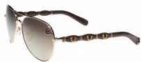 True Religion Maverick Sunglasses Sunglasses - Cocoa W/ Brown Gradient