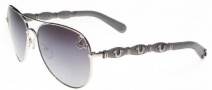True Religion Maverick Sunglasses Sunglasses - Shiny Gunmetal W/ Grey