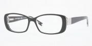 Anne Klein AK8097 Eyeglasses Eyeglasses - 244 Black Crystal