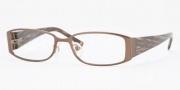 Anne Klein AK9104 Eyeglasses Eyeglasses - 543S Brown Honey