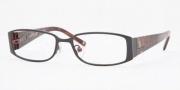 Anne Klein AK9104 Eyeglasses Eyeglasses - 545S Satin Charcoal Red