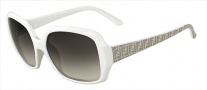 Fendi FS 5139 Sunglasses Sunglasses - 105 White