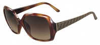 Fendi FS 5139 Sunglasses Sunglasses - 218 Light Havana