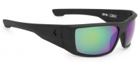 Spy Optic Dirk Sunglasses Sunglasses - Matte Black / Bronze Polarized Green Spectra