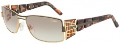 Cazal 9020 Sunglasses Sunglasses - 003 Brown Tortoise / Brown Gradient Lens