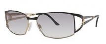 Cazal 9023 Sunglasses Sunglasses - 002 Black Silver Mottled / Grey Gradient Lens