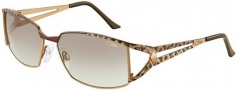 Cazal 9023 Sunglasses Sunglasses - 003 Brown Leopard / Brown Gradient Lens
