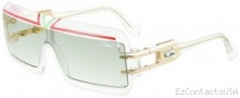 Cazal Legends 856 Sunglasses Sunglasses - 244 Grenadine White - Nile Green
