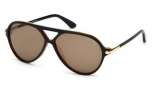 Tom Ford FT0197  Leopold Sunglasses Sunglasses - 05J Black / Roviex