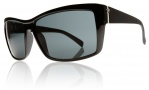 Electric Riff Raff Sunglasses Sunglasses - Gloss Black / Grey Lens