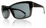 Electric Riff Raff Sunglasses Sunglasses - Gloss Black / Grey Polycarbonate Polarized Lens