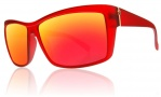 Electric Riff Raff Sunglasses Sunglasses - Plasma  / Grey Fire Chrome Lens