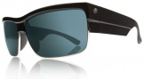 Electric Mutiny Sunglasses Sunglasses - Gloss Black / Grey Blue Visual Evolution Polarized Lens