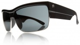Electric Mutiny Sunglasses Sunglasses - Gloss Black / Grey Polycarbonate Polarized Lens