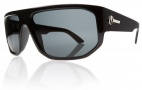 Electric BPM Sunglasses Sunglasses - Gloss Black / Grey Mineral Glass Polarized Lens