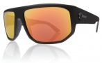 Electric BPM Sunglasses Sunglasses - Matte Black / Grey Fire Chrome Lens