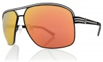 Electric Vegus Sunglasses Sunglasses - Matte Black / Grey Fire Chrome Lens