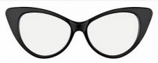 Tom Ford FT5224 Eyeglasses Eyeglasses - 01B Shiny Black / Gradient Smoke