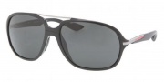 Prada Sport PS 07MS Sunglasses Sunglasses - 1AB1A1 Black / Gray