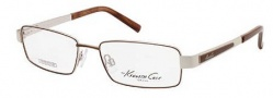 Kenneth Cole New York KC0162 Eyeglasses Eyeglasses - 049 Matte Dark Brown