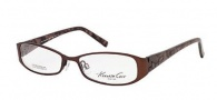 Kenneth Cole New York KC0165 Eyeglasses Eyeglasses - 049 Matte Dark Brown