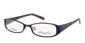 Kenneth Cole New York KC0165 Eyeglasses Eyeglasses - 082 Matte Violet