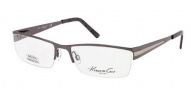 Kenneth Cole New York KC0166 Eyeglasses Eyeglasses - 008 Shiny Gunmetal