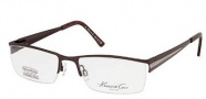 Kenneth Cole New York KC0166 Eyeglasses Eyeglasses - 048 Shiny Dark Brown
