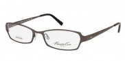 Kenneth Cole New York KC0175 Eyeglasses Eyeglasses - 008 Shiny Gunmetal