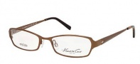 Kenneth Cole New York KC0175 Eyeglasses Eyeglasses - 048 Shiny Dark Brown