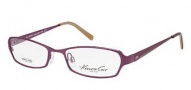 Kenneth Cole New York KC0175 Eyeglasses Eyeglasses - 081 Shiny Violet