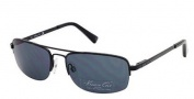 Kenneth Cole New York KC7004 Sunglasses Sunglasses - 01A Shiny Black / Smoke