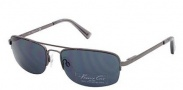Kenneth Cole New York KC7004 Sunglasses Sunglasses - 08A Shiny Gunmetal / Smoke