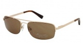 Kenneth Cole New York KC7004 Sunglasses Sunglasses - 32E Gold / Brown