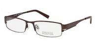 Kenneth Cole Reaction KC0711 Eyeglasses Eyeglasses - 049 Matte Dark Brown