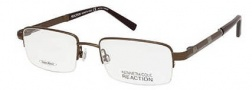 Kenneth Cole Reaction KC0718 Eyeglasses Eyeglasses - 048 Shiny Dark Brown