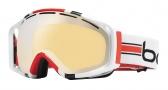 Bolle Gravity Goggles  Goggles - 20925 White Stripes / Amber Gunmetal