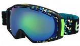 Bolle Gravity Goggles  Goggles - 21154 Black Diagonal / Green Emerald