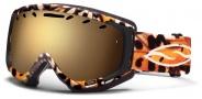Smith Optics Phase Snow Goggles Goggles - Black Monarch / Gold Sol X Mirror