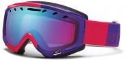 Smith Optics Phase Snow Goggles Goggles - Neon Red Typeress / Blue Sensor Mirror