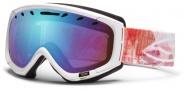 Smith Optics Phase Snow Goggles Goggles - Pink Geomental / Blue Sensor Mirror