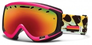 Smith Optics Phase Snow Goggles Goggles - Shocking Pink Migration / Red Sol X Mirror