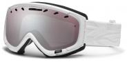 Smith Optics Phase Snow Goggles Goggles - White Facet / Ignitor Mirror