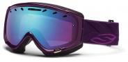 Smith Optics Phase Snow Goggles Goggles - Shadow Purple Riviera / Blue Sensor Mirror